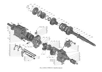 A31R32-1700010-01 Коробка передач