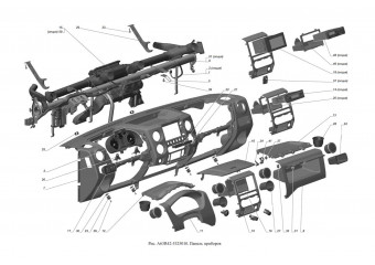 A63R42-5325010 Панель приборов