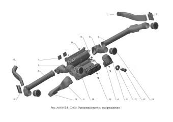 A64R42-8103005 Установка системы распределения опция Кондиционер, Система кондиционирования повышенной эффективности