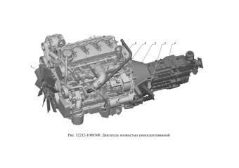 32212-1000300 Двигатель полностью укомплектованный