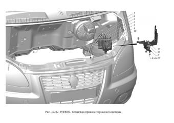 32212-3500002 Установка привода тормозной системы опция Тормозная система с АБС