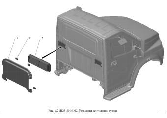 A21R23-8104002 Установка вентиляции кузова