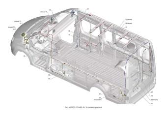 A65R32-3724002-30 Установка проводов опция Кондиционер