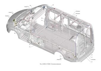 A65R32-3724002 Установка проводов