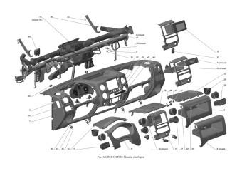 A65R32-5325010 Панель приборов