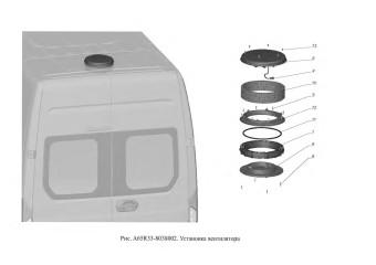 A65R33-8038002 Установка вентилятора опция Фильтро-вентиляционная установка